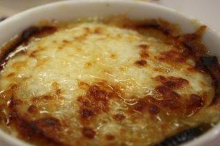 Receta de sopa de cebolla con champiñones
