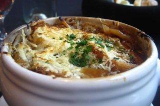 Receta de sopa de cebolla y tomillo
