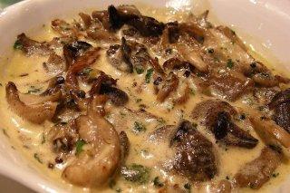 Receta de sopa de champiñones