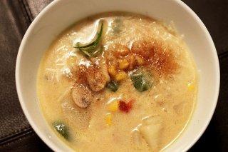 Receta de sopa de fideos con calabacín