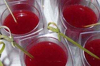 Receta de sopa de fresas