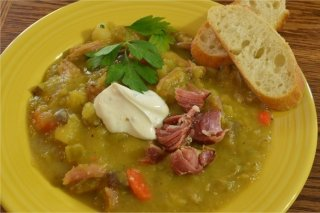 Receta de sopa de garbanzos