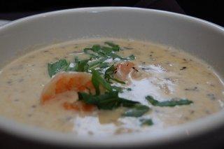 Receta de sopa de maíz y espárragos