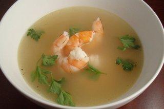 Receta de sopa de marisco y pescado
