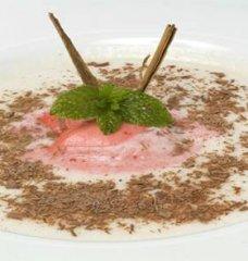 Receta de sopa de melón con helado