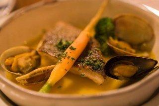 Receta de sopa de pescado en microondas