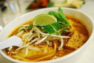 Receta de sopa de pollo al curry