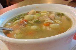 Receta de sopa de pollo con brécol