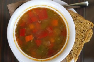 Receta de sopa de pollo dukan