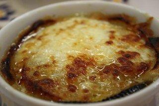 Receta de sopa de queso al horno