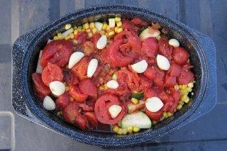 Receta de sopa de tomate con calabacín
