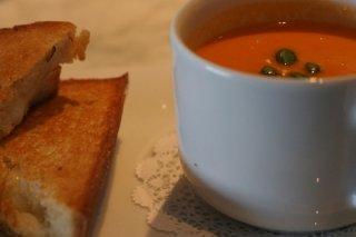 Receta de sopa de tomate con calabaza