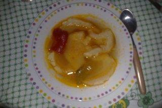 Receta de sopa de tomate con pan