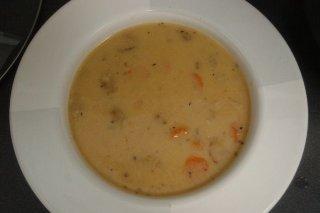 Receta de sopa de tortilla y zanahoria