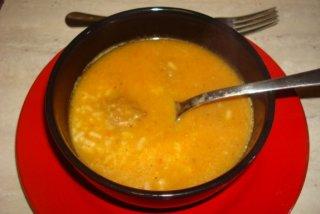 Receta de sopa de verduras con arroz