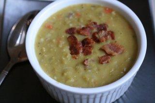 Receta de sopa de verduras con jamón