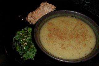 Receta de sopa de verduras con manzana salteada