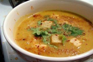 Receta de sopa de verduras con surimi