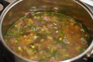 Receta de sopa de verduras con toque especial