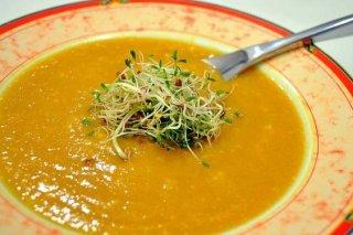 Receta de sopa de verduras y avena