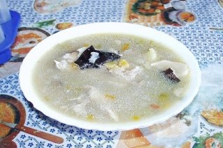 Receta de sopa de verduras y pescado