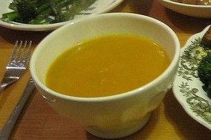 Receta de sopa de zanahoria y jengibre