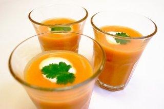 Receta de sopa de zanahorias especiadas
