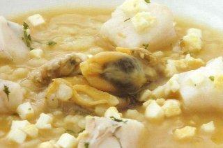 Receta de sopa del mar