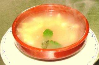 Receta de sopa fácil de patata