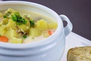 Receta de sopa italiana de patatas