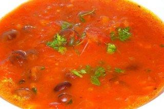 Receta de sopa roja de fideos