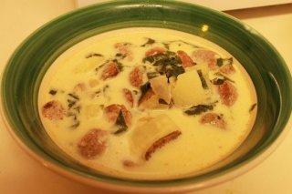 Receta de sopa toscana