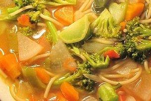 Receta de sopa vegetal