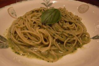 Receta de spaghetti al pesto