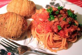 Receta de spaghetti rojo