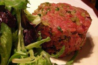 Receta de steak tartar