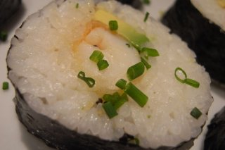 Receta de sushi de langostinos