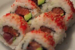 Receta de sushi roll