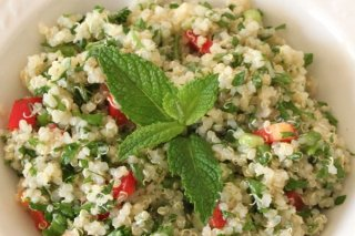 Receta de tabbolueh de quinoa