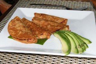 Receta de tacos de camarón con queso manchego