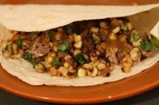 Receta de tacos de carne y cebolla