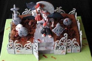 Receta de tarta cementerio