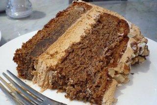 Receta de tarta de almendras y chocolate