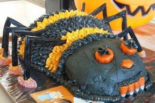 Receta de tarta de araña