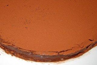 Receta de tarta de calabaza y chocolate
