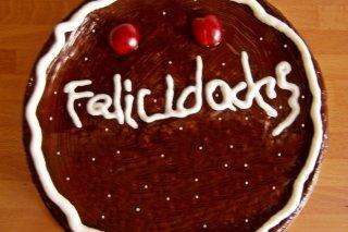 Receta de tarta de chocolate para cumpleaños
