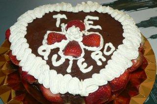 Receta de tarta de chocolate para san valentín
