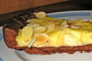 Receta de tarta de chocolate y almendras