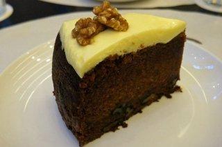 Receta de tarta de chocolate y zanahoria