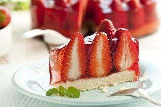 Receta de tarta de fresas fácil